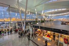Aeroporto Wroclaw de Copernicus Imagem de Stock