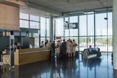 Aeroporto Zurigo (Kloten) Fotografie Stock Libere da Diritti