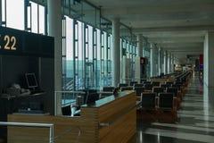 Aeroporto Zurigo (Kloten) Fotografia Stock Libera da Diritti