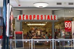 Aeropostale-Einzelhandels-Mall-relative Satznummer I Lizenzfreies Stockfoto