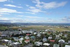 Aeropuerto 2 de Reykjavik Foto de archivo libre de regalías