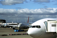 Aeropuerto foto de archivo libre de regalías