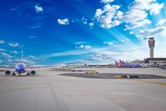 Aeropuerto Fotografía de archivo libre de regalías