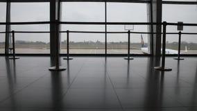 Aeropuerto almacen de metraje de vídeo