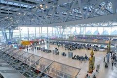 Aeropuerto Bangkok de Suvarnabhumi Imágenes de archivo libres de regalías