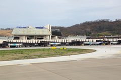 Aeropuerto de Adler Foto de archivo