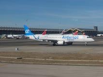 Aeropuerto de Adolfo Suarez en Madrid-Barajas Imagenes de archivo