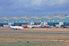 Aeropuerto de Alicante Elche Imagen de archivo libre de regalías