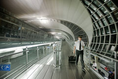 Aeropuerto de Bangkok Foto de archivo