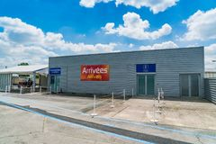 Aeropuerto de Bergerac fotos de archivo