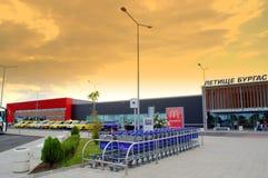 Aeropuerto de Burgas imagen de archivo
