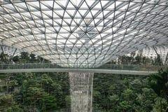 Aeropuerto de Changi de la joya fotografía de archivo libre de regalías