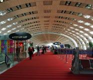 Aeropuerto de Charles de Gaulle, París Francia Fotos de archivo libres de regalías