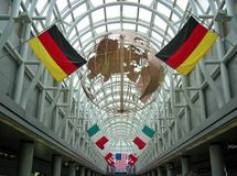 Aeropuerto de Chicago Foto de archivo