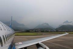Aeropuerto de China imagen de archivo