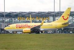 Aeropuerto de Colonia Foto de archivo libre de regalías
