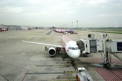 Aeropuerto de Don Meung en Bangkok, Tailandia fotografía de archivo