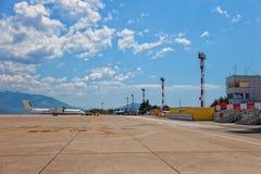 Aeropuerto de Dubrovnik Imagen de archivo