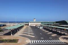 Aeropuerto de Fuerteventura Imagen de archivo