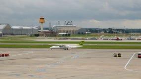 Aeropuerto de Hamburg International en Alemania Imagen de archivo