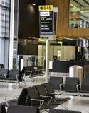 Aeropuerto de Heathrow - terminal 2 imagen de archivo libre de regalías