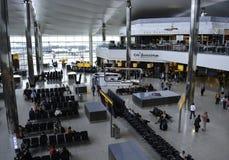 Aeropuerto de Heathrow - terminal 5 fotografía de archivo libre de regalías