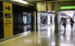 Aeropuerto de Heathrow - terminal 5 imágenes de archivo libres de regalías