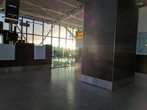 Aeropuerto de Hethrow Fotografía de archivo libre de regalías