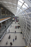 Aeropuerto de Hong-Kong Fotos de archivo libres de regalías