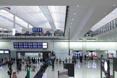 Aeropuerto de Hong-Kong Fotos de archivo