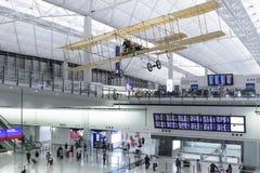 Aeropuerto de Hong-Kong Fotografía de archivo libre de regalías