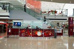Aeropuerto de Hong-Kong Imágenes de archivo libres de regalías