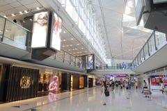 Aeropuerto de Hong-Kong Int'l Imágenes de archivo libres de regalías