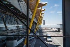 Aeropuerto de Jetway Madrid Barajas Imagen de archivo libre de regalías