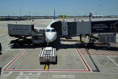 Aeropuerto 17 de JFK Imagen de archivo libre de regalías