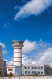 Aeropuerto de Kangding Imagenes de archivo