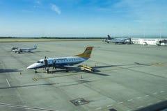 Aeropuerto de Kingston, Jamaica Imágenes de archivo libres de regalías