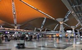 Aeropuerto de KLIA Imagen de archivo libre de regalías