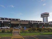 Aeropuerto de la ciudad de Belice imagenes de archivo