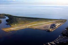 Aeropuerto de la isla de Toronto Fotografía de archivo libre de regalías