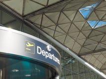 Aeropuerto de Londres Standsted fotografía de archivo libre de regalías