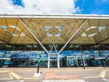 Aeropuerto de Londres Standsted, hdr imagenes de archivo