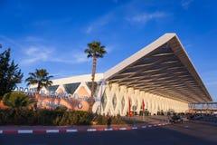 Aeropuerto de Marrakesh fotografía de archivo