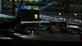 Aeropuerto de Munich en la noche