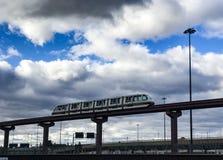 Aeropuerto de Newark Foto de archivo libre de regalías