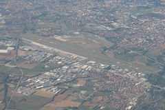 Aeropuerto de Orio al Serio Fotos de archivo