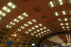 Aeropuerto de París-Charles de Gaulle Imagen de archivo libre de regalías