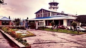 Aeropuerto de Pokhara, Nepal Foto de archivo libre de regalías