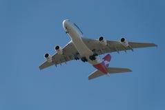 Aeropuerto de Qantas A380 Perth Foto de archivo