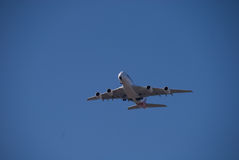 Aeropuerto de Qantas A380 Perth Fotos de archivo libres de regalías